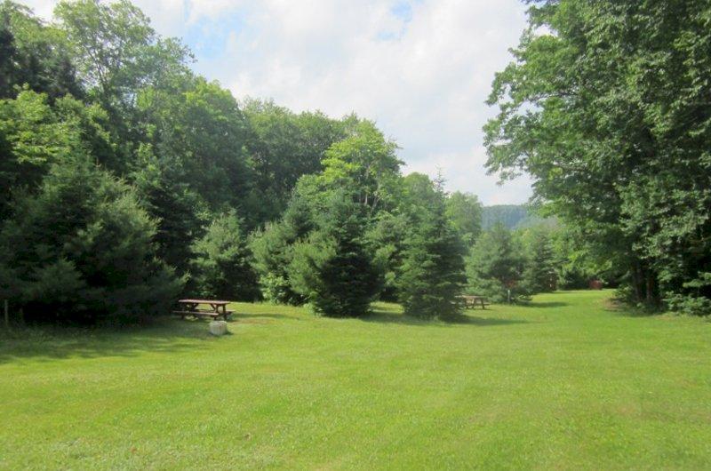Uisge Ban Falls Nature Campground
