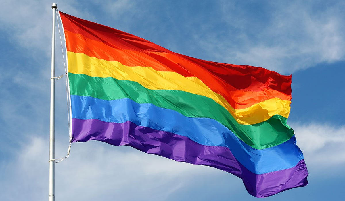 Flag Raising for Pride Month